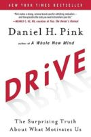 "Book cover with the word ""DRiVE"" in red text"