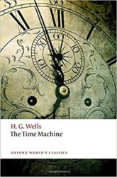 Book cover for The Time Machine by H.G. Wells